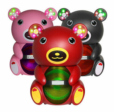 $40.98 • Buy Teddy Bear 1000 Watts Portable Bluetooth Multimedia Speaker With LED Light