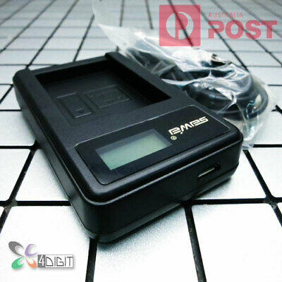 AU18.95 • Buy LCD Charger For Canon NB-13L NB13L Battery PowerShot G5 G1X Mark III G7 G9 X II