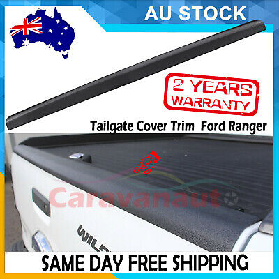 AU76 • Buy Tailgate Rail Guard Cap Protector Cover For Ford Ranger Raptor Xl Xls Xlt 2012+