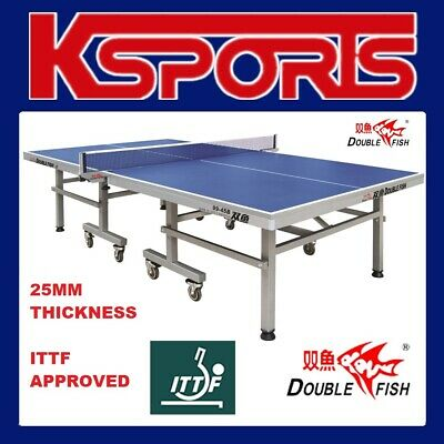AU899 • Buy ITTF APPROVED Double Fish Table Tennis Table 25mm Top - International Tournament