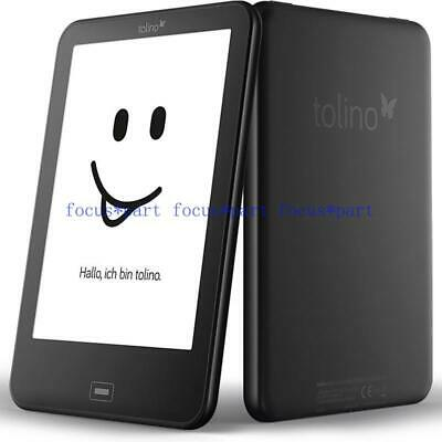 $76.90 • Buy Tolino Vision 2 Black E-book Reader 6 Inch E Ink Backlight 1024x758 Touch Screen