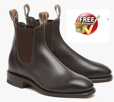 AU480 • Buy NEW RM Williams Craftsman Boot  Chestnut For Mens Choose Size