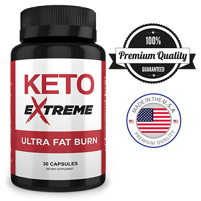 $3.95 • Buy Keto EXTREME Ultra Fat Burn All Natural 30 Capsules One Month Supply