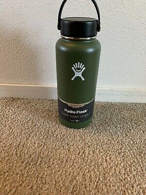 $40.49 • Buy Hydro Flask 32oz Wide Mouth W/ Flex Cap *OLIVE* NEW