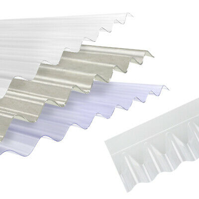 £33.31 • Buy Plastic Corrugated Roof Sheet Corrapol PVC Roofing Shed Garage Barn Lean-to