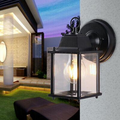 Front Porch Outdoor Wall Lantern Light Fixture Exterior Lighting Wall Mounted UK • 14.99£