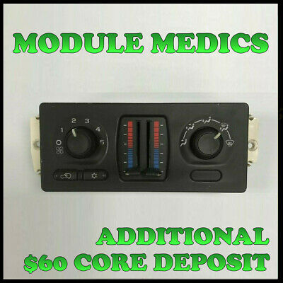 $129.99 • Buy Rebuilt 03-04 Chevy Gm Trucks A/c Climate Control Oem 15189435 $50 Core Refund