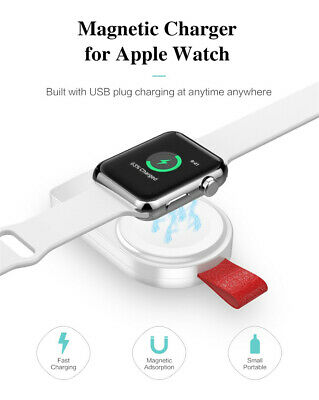 $ CDN11.25 • Buy For Apple Watch Series 5 4 3 2 1 IWatch Portable Pocket Charger Charging Keyring