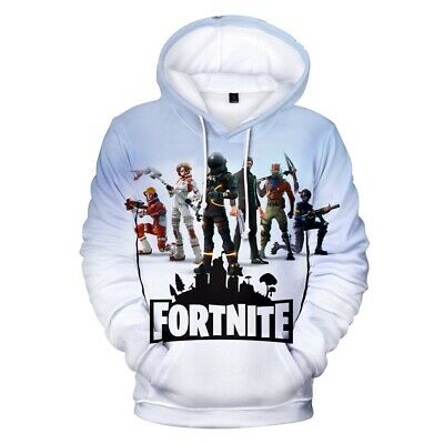 $ CDN9.13 • Buy HOT Gamer 3D Fortnight Battle Royale Men Women Hoodies Sweatshirt Christmas Gift