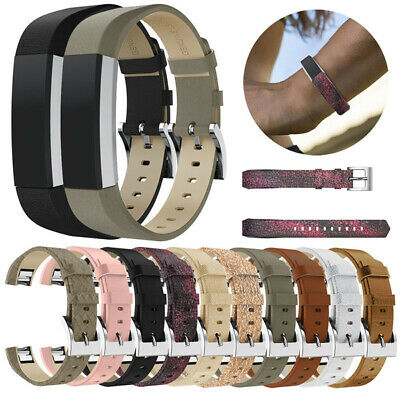 AU12.35 • Buy For Fitbit Alta/Alta HR Leather Replacement Wrist Watch Band Strap Bracelet