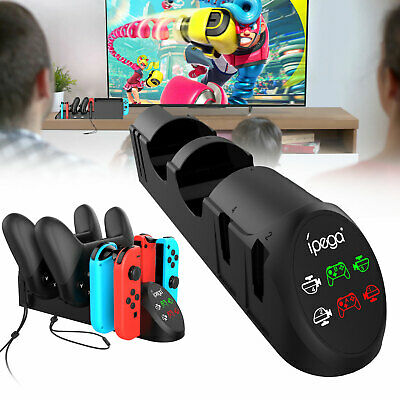 $19.97 • Buy For Nintendo Switch Joy-con Controller Joystick Charging Dock Station Stand Base