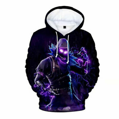 $ CDN34.10 • Buy NEW Gamer 3D Fortnight Battle Royale Men Women Hoodies Sweatshirt Christmas Gift