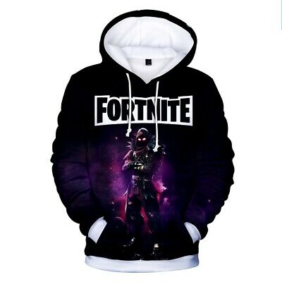 $ CDN9.13 • Buy HOT TOP Men Women Kids Gamer 3D Fortnight Battle Royale Hoodies Sweatshirts Gift