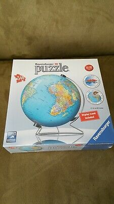 $39.99 • Buy Ravensburger The Earth 3D Jigsaw Puzzle Ball World Globe 540 Pieces With Stand