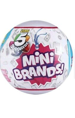 $ CDN19.45 • Buy #MINI BRANDS# Zuru 5 Surprise! (1) Blind Mystery Ball Christmas Stocking Stuffer