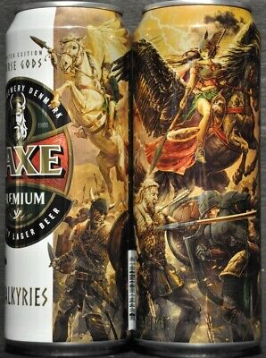 $ CDN5.29 • Buy FAXE 450 Ml Beer Can From Russia 2019 VIKING  Limited Edition VALKIRIES