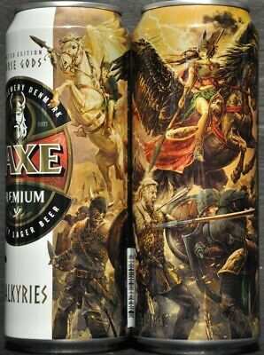 $ CDN4.82 • Buy FAXE 450 Ml Beer Can From Russia 2019 VIKING  Limited Edition VALKIRIES