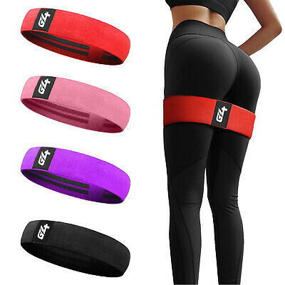 $ CDN8.45 • Buy Hip Circle Resistance Band Fitness Loop Elastic Booty Legs Exercise Bands Glute