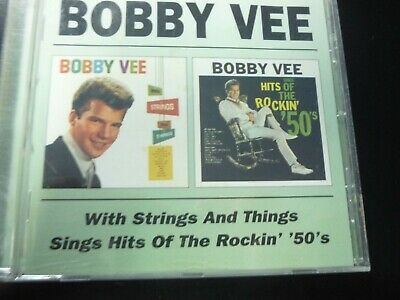 $12 • Buy Bobby Vee - With Strings & Things/hits Of The Rockin 50s CD