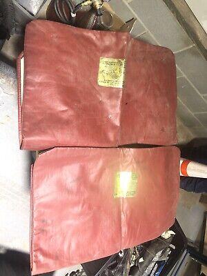 $65 • Buy 1981-1983 Datsun 280zx Fairlady Z S130 L28e Red T-top Glass Bags Storage Covers