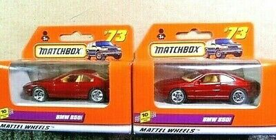 $2.99 • Buy Matchbox 1999 BMW 850i Diecast Car Lot Of 2: #73, 1:64 Scale New In Package!