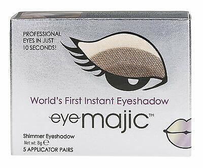 Eye Majic Instant Eyeshadow, 5 Pair Pack Easy Makeup In 10 Seconds - Cappuccino • 8.99£