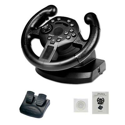 $143.79 • Buy  Steering Wheel Racing Game With Brake Pedal For Xbox One PS3 PC With PC Gift