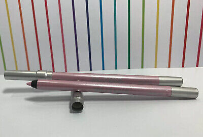$10 • Buy LOT 2 Urban Decay 24/7 Glide On Eye Pencil Heartless Metallic Pink 0.04oz Ea NEW