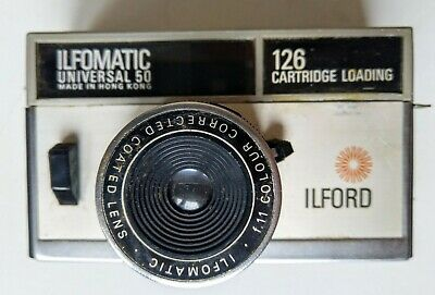 Vintage Camera Old History Photography Ilfomatic Universal 50 126 • 19.99£