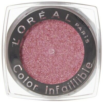 L'Oreal Color Infallible Eye Shadow Naughty Strawberry Iridescent Finish • 2.29£