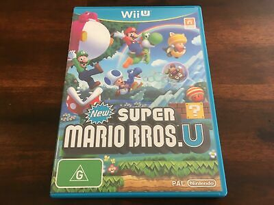 AU26.95 • Buy New Super Mario Bros. U | Nintendo Wii U Game | Like New | Aus Stock | Free Post