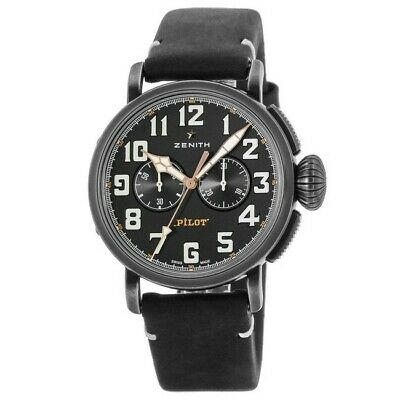 $4262 • Buy New Zenith Pilot Type 20 Chronograph  Men's Watch 11.2432.4069/21.C900