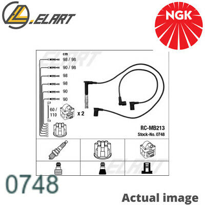 $234.01 • Buy Ignition Cable Kit Set For Mercedes Benz E Class W124 M 119 975 M 119 974 Ngk