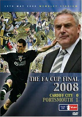 The FA Cup Final 2008 - Cardiff City V Portsmouth - Sealed NEW DVD • 12.99£