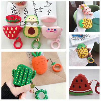 $ CDN5.18 • Buy Earphone Case Cover For Apple Airpods 1/2/3 Cartoon Protector Holder Silicone