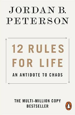 AU20.39 • Buy 12 Rules For Life An Antidote To Chaos By Jordan B Peterson FREE DELIVERY