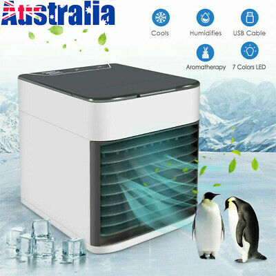 AU27.99 • Buy Portable Mini USB Air Conditioner Cool Cooling Artic Ultra Cooler Fan Humidifier