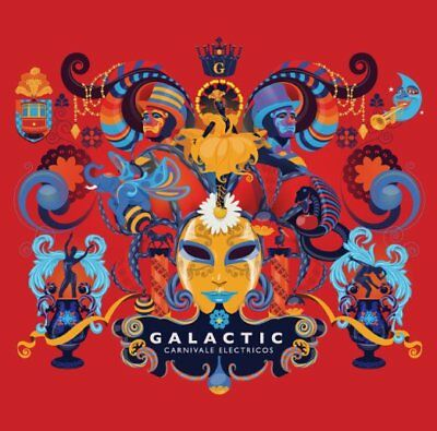 Galactic-carnivale Electricos-japan Cd F04 • 20.42£