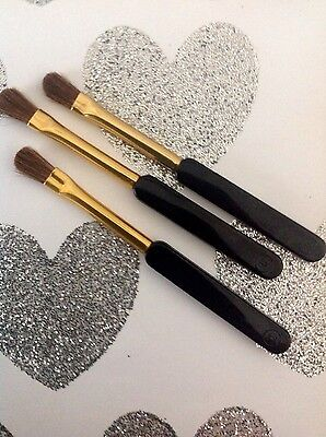 Chanel Makeup Mini Lip Brushes X 3  Accessories New • 4.99£