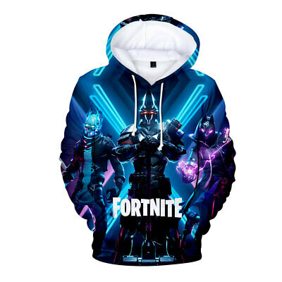 $ CDN34.10 • Buy Fashion 2020 Men Women Kids Game 3D Fortnight Battle Royale Hoodie Sweatshirt