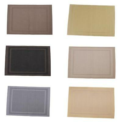 AU5.90 • Buy Washable Place Mats Placemats Heat Resistant Non Slip Dining Table Mat YW