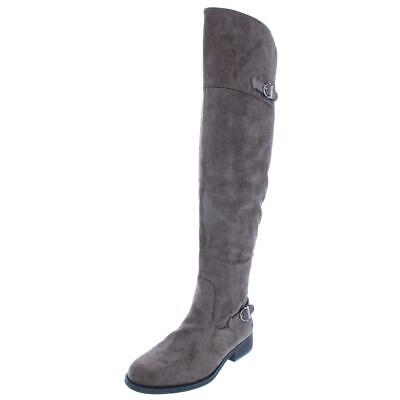 $13.19 • Buy American Rag Womens Adarra Buckle Fashion Over-The-Knee Boots Shoes BHFO 5601