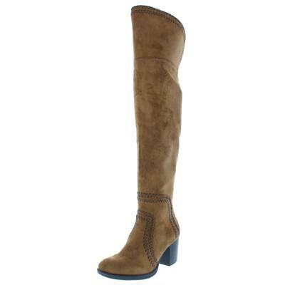 $10.99 • Buy American Rag Womens Alauraine Faux Suede Over-The-Knee Boots Shoes BHFO 9700