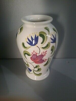 Portmeirion 17 Cm 'Welsh Dresser' Vase In Excellent Conditiion (D12 01) • 5£