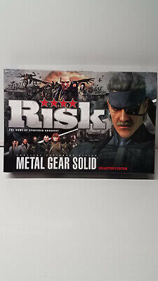 $59.95 • Buy Risk Metal Gear Solid Board Game, Collectors Edition USAOPOLY