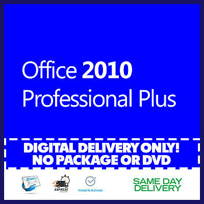 $8.90 • Buy Office 2010 Professional Plus Product Key 🔐 Activation License