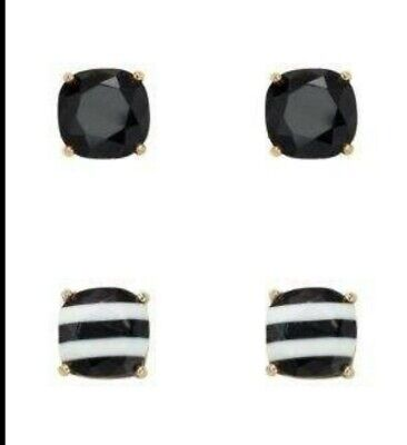 $ CDN30 • Buy Kate Spade Earrings Black And White Striped Great Condition