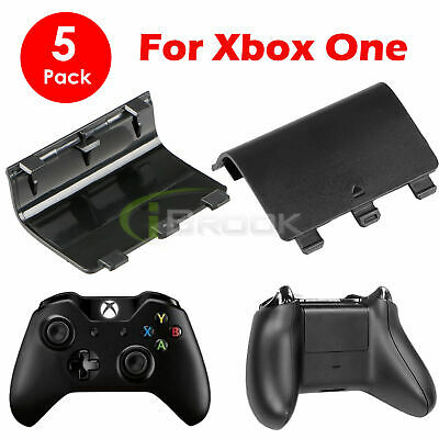 $5.98 • Buy 5 Battery Back Cover Door Lid Shell Replacement For XBOX One Wireless Controller