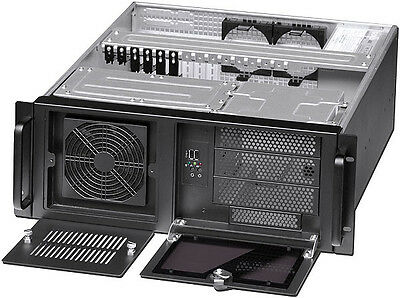AU193.02 • Buy 4U (24  Rail Set) (3x5.25 + 9x3.5  Bay) (Rackmount Chassis) (ATX / ITX Case) NEW