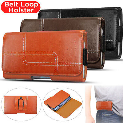 £3.99 • Buy Belt Clip Loop Holster Leather Pouch Phone Holder For IPhone 13 12 11 X XR 8 7 6